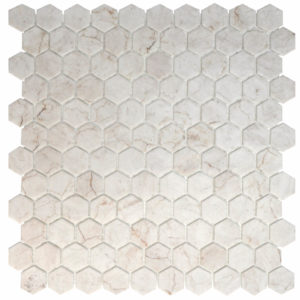 MOSAICO HEX IVORY HONED 31X31
